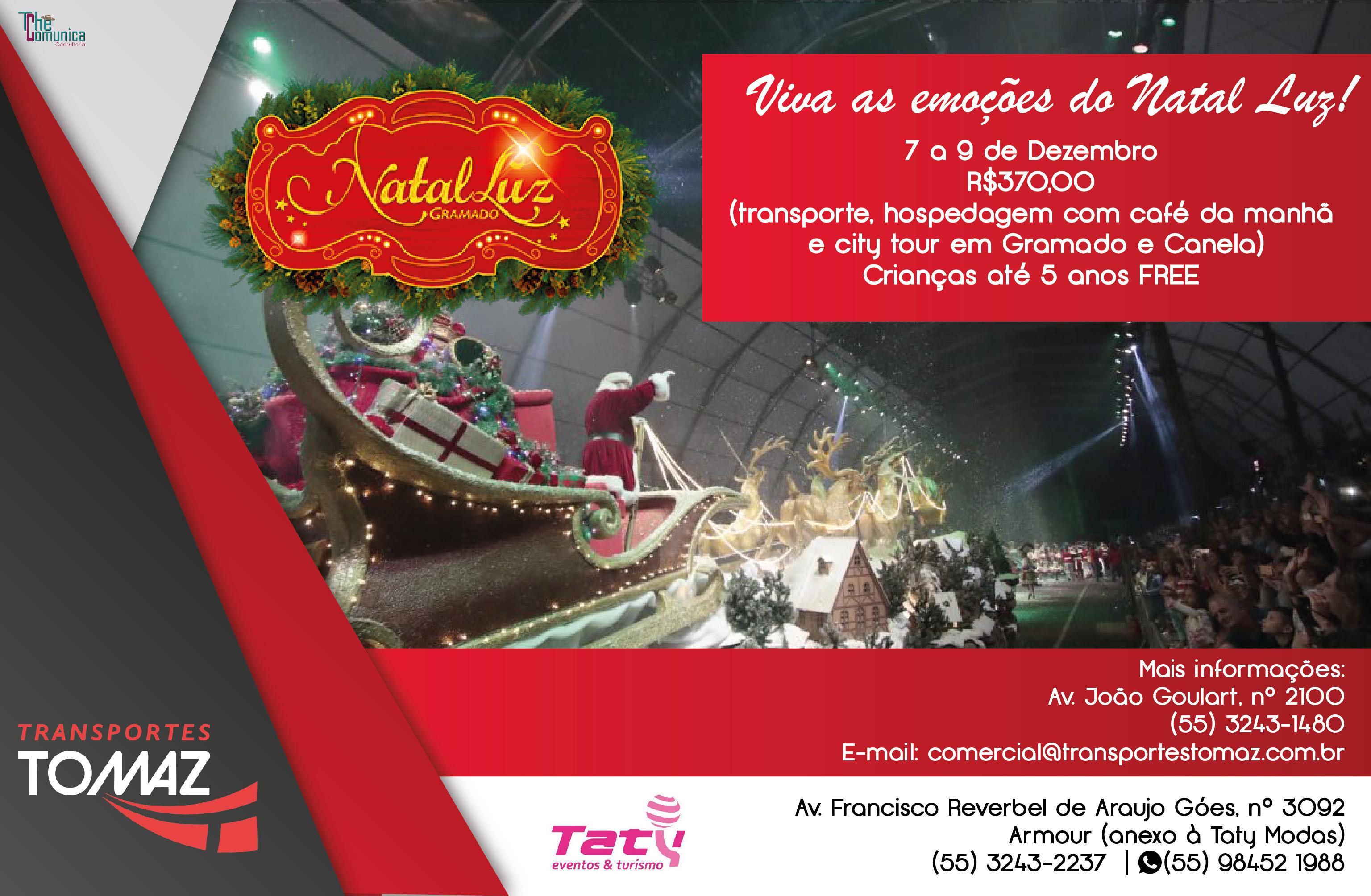 Natal Luz Gramado - 7 a 9 de dezembro