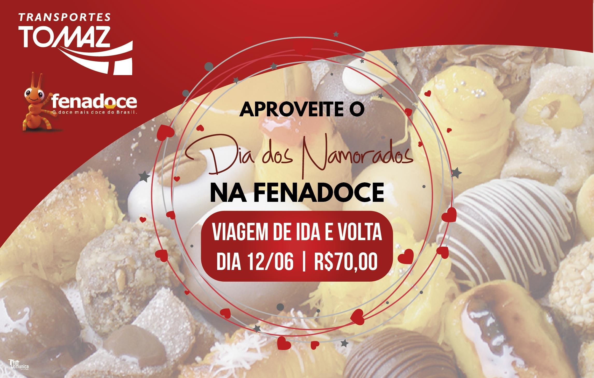 Fenadoce (Pelotas) - 12 de Junho Dia dos Namorados