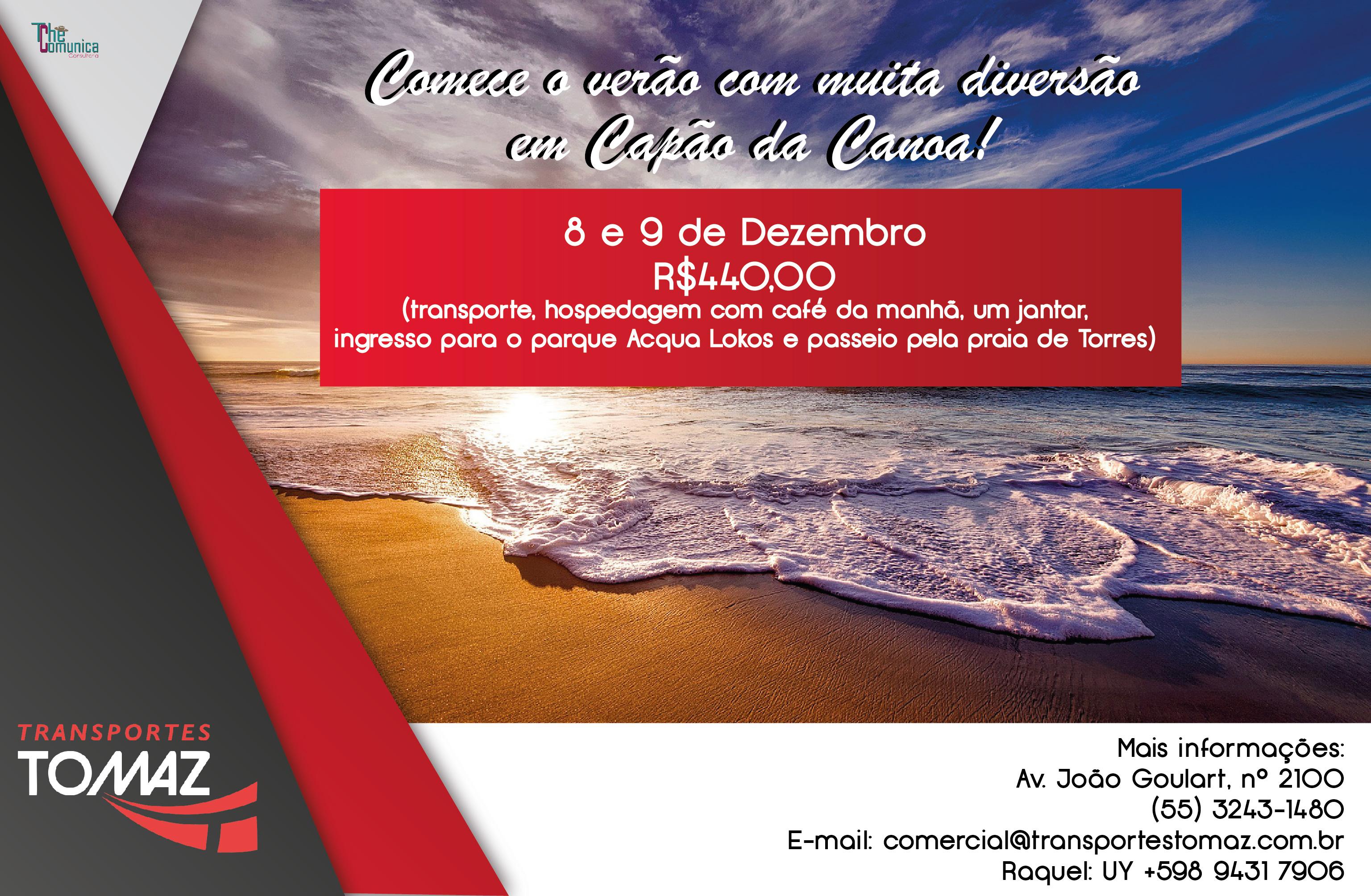 Capão da Canoa - 8 a 9 de Dezembro